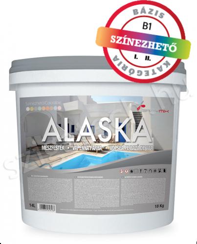 Alaska Mészfesték kültéri falfesték szigatech
