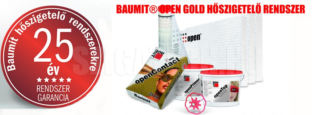 Baumit-Open-gold-hőszigetelő-rendszer