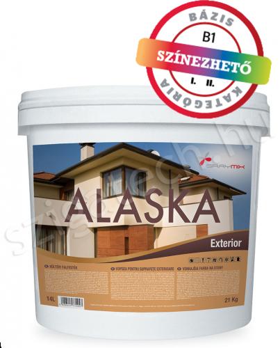 Graymix Alaska Exterior kültéri falfesték szigatech