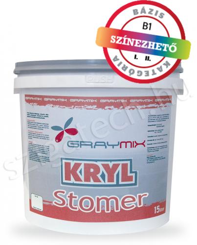 Graymix Kryl Stomer beton és lábazatfesték szigatech