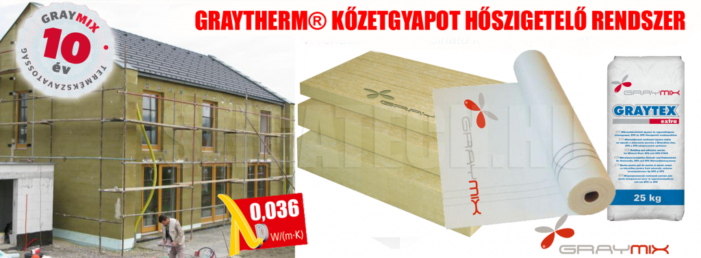 graytherm-kőzetgyapot-hoszigetelo-rendszer