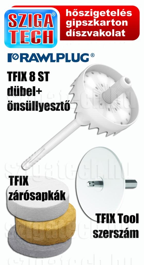 rawlplug-tfix-önsüllyesztő-dübel-rendszer-szigatech