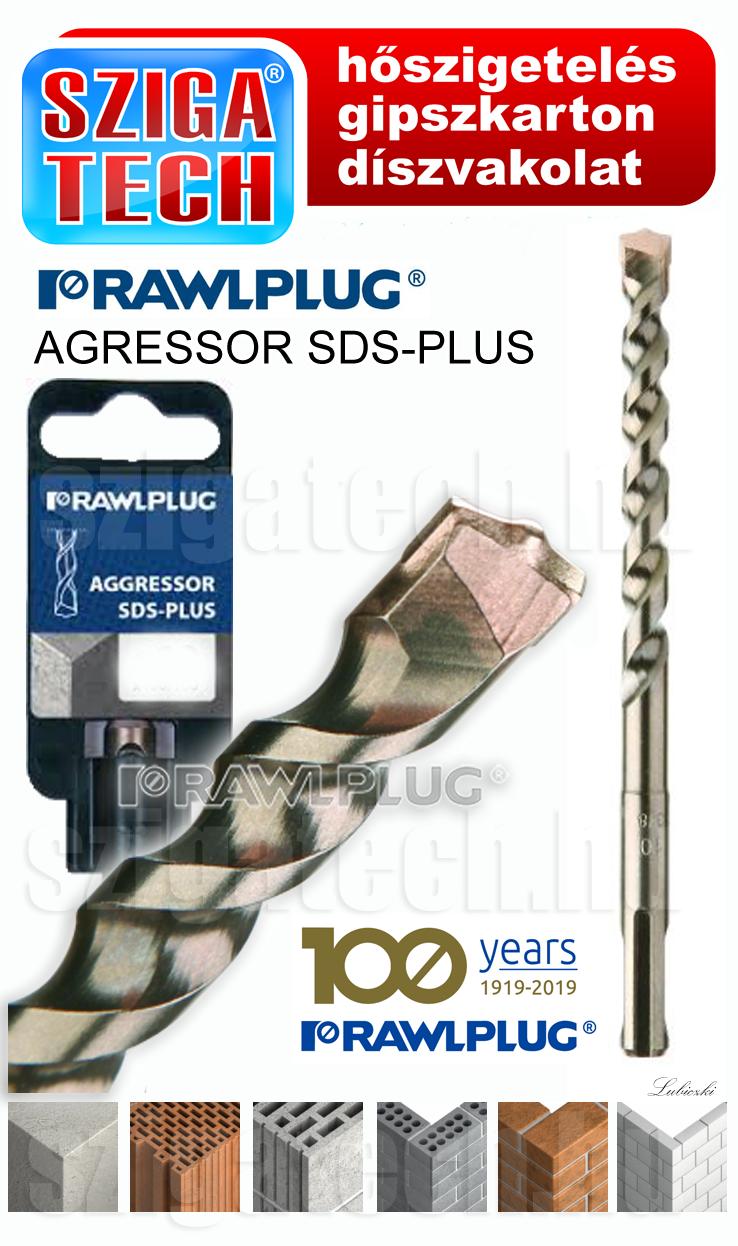 rawlplug-agressor-sds-plus-kőzetfúró