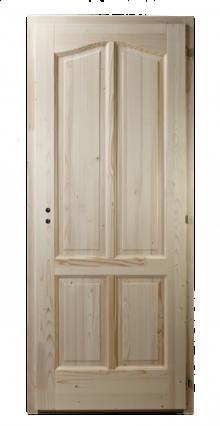 4-kazettás-íves-fenyő-beltéri-ajtó
