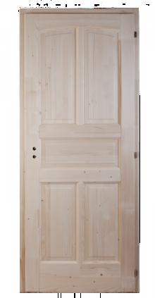 5-kazettás-íves-fenyő-beltéri-ajtó