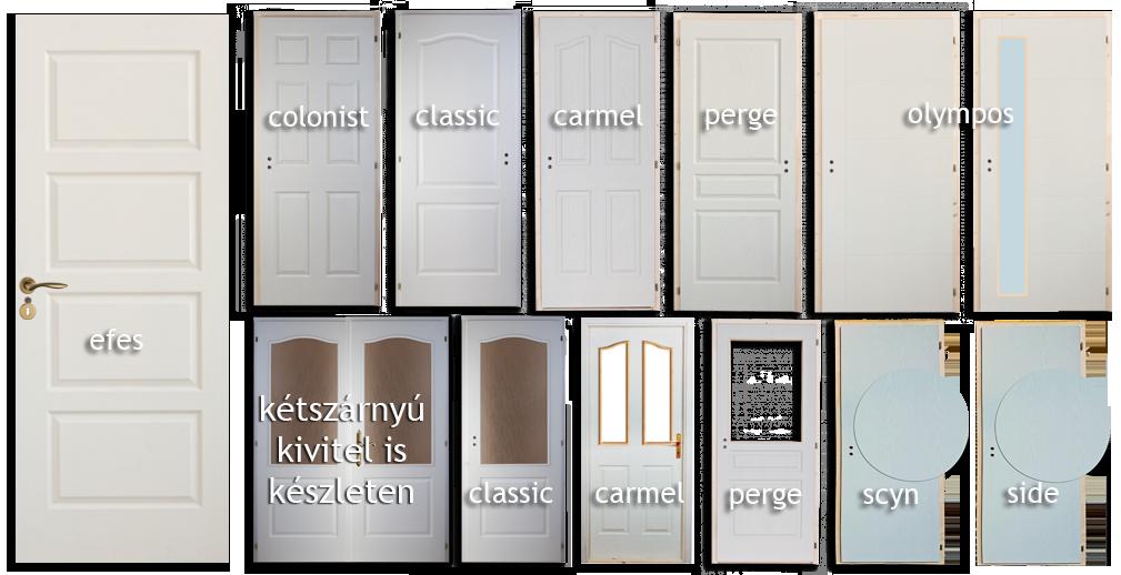Lemezelt beltéri ajtó típusok 2016