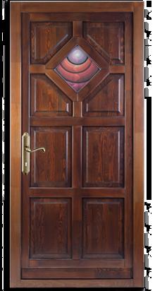 BK1 fenyő bejárati ajtó