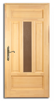 Classic borovi bejárati ajtó