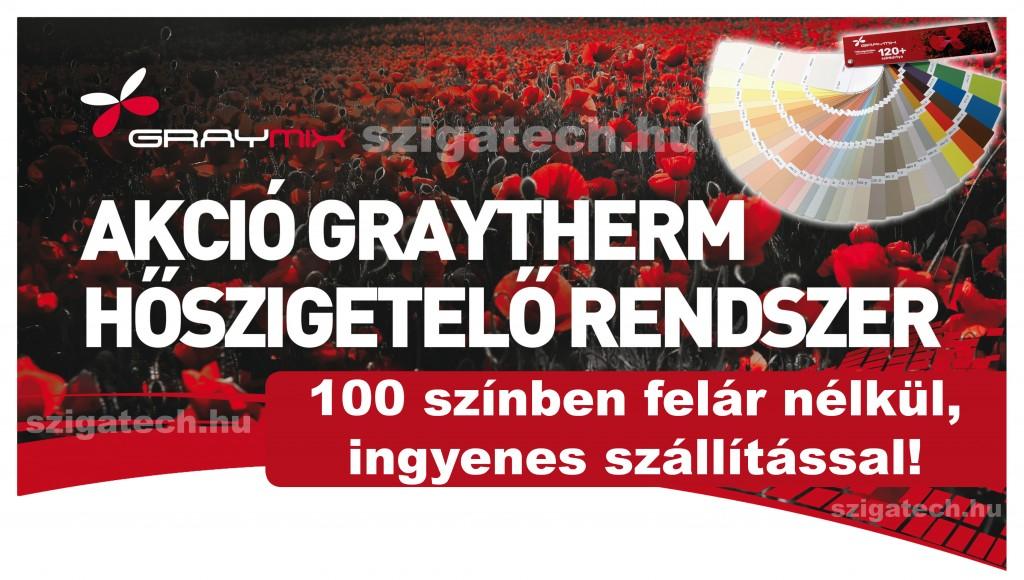graytherm thr hőszigetelő rendszer akció - 2020
