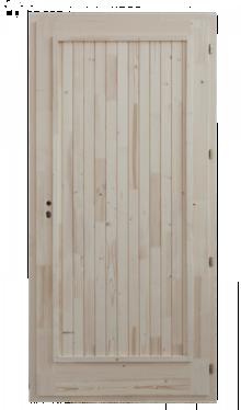 Hal tele fenyő bejárati ajtó szigatech