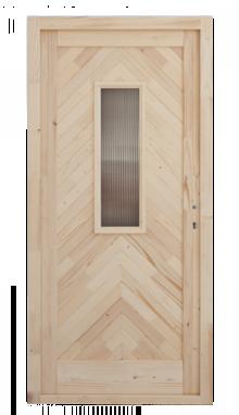 Halszálkás bejárati ajtó szigatech