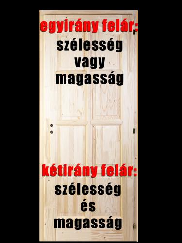 beltéri ajtó egyedi méret felárak