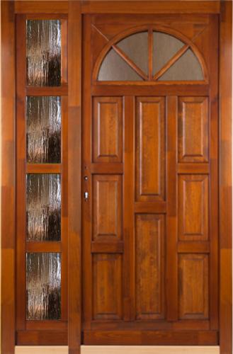 Napsugár kétszárnyú bejárati ajtó