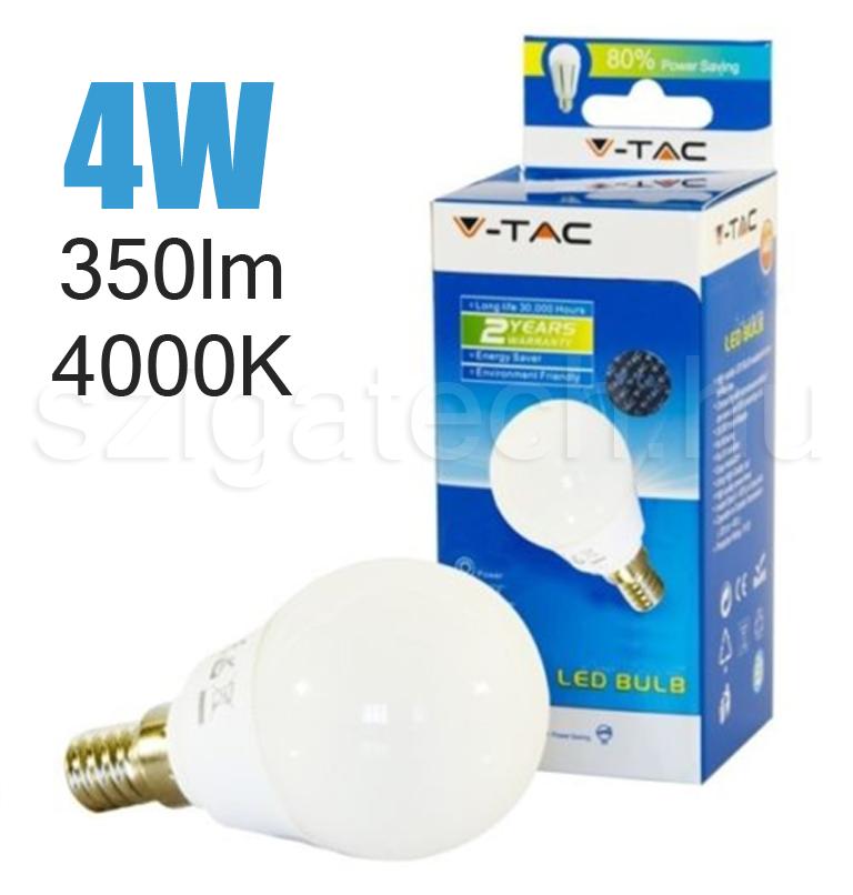 led-lampa-e14-kisgömb-4000k-4w