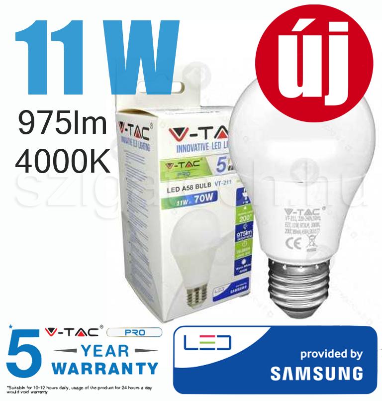 led-lampa-e27-4000k-11w-uj