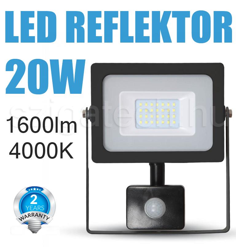 led-reflektor-mozgásérzékelős-smd-slim-4000k-20w